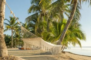 Beach in the Caribbean Sea of Belize. Belize Vacations