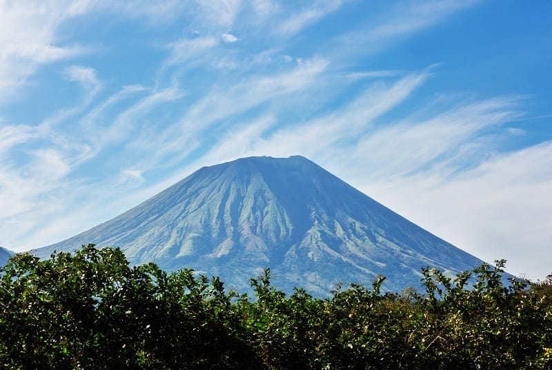 Beautiful Volcano in Ometepe Island. Best Volcano Hikes Nicaragua